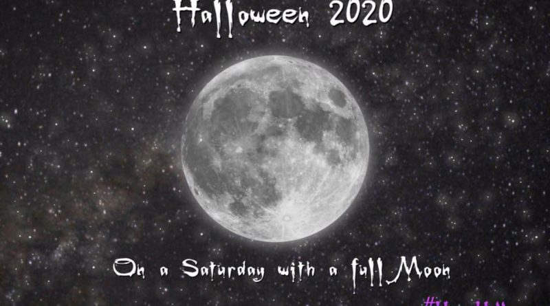 Halloween on a Saturday with a full moon!